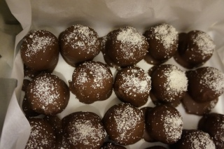 Truffes aux biscuits