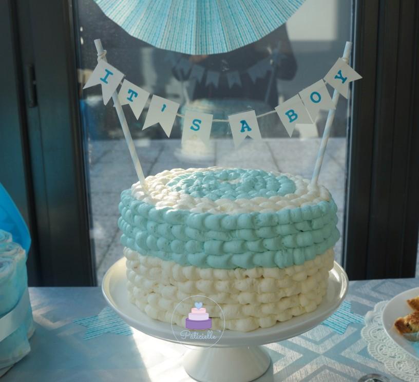 gâteau Chantilly Mascarpone - baby shower