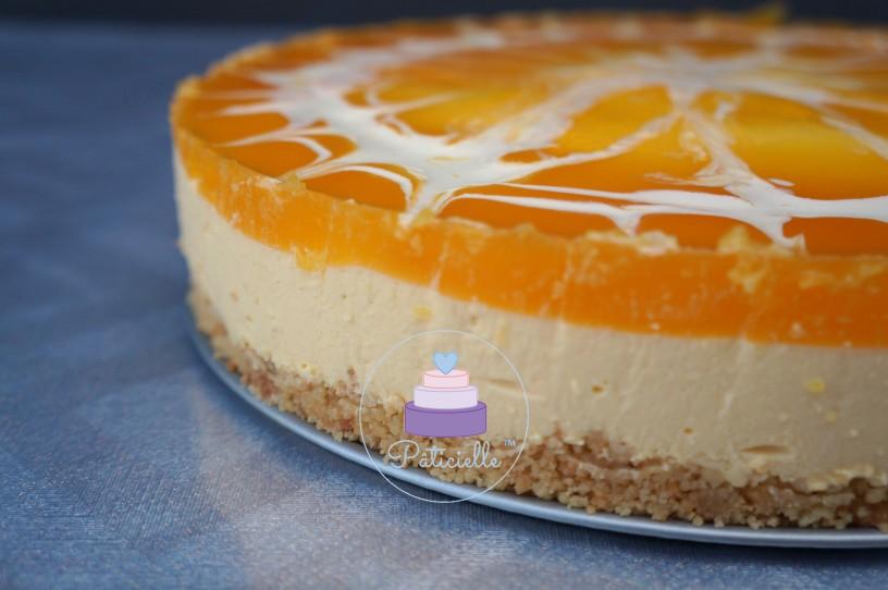 Cheesecake mangue sans cuisson