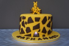 Gâteau Girafe - Girafe cake