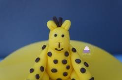 Girafe nounours
