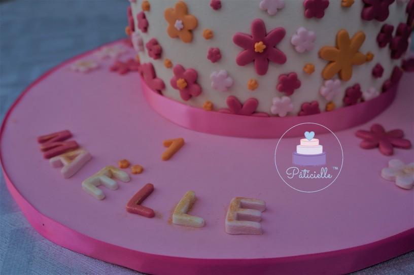 Flower Cake - By Pâticielle