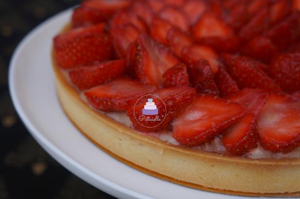 Tarte aux fraises Pâticielle