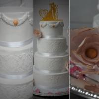 Élégant Wedding Cake - Le Romantique White Cake pour un voyage en Eden