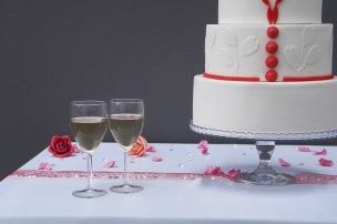 photographier le gâteau